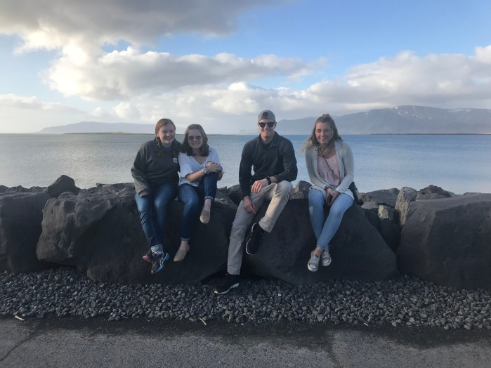 Pictured: left to right -> Whitley, Megan (Meg), CJ, Meghan (Shmeeg)